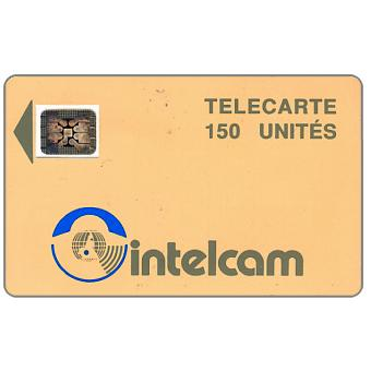 Intelcam logo, large arrow, chip SC-4 SB Afnor Ø7 with frame, 150 units