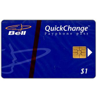 Phonecard for sale: Bell QuickChange - Logo, $1