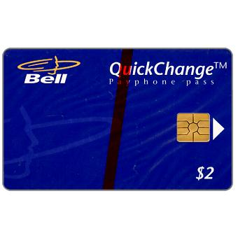 Phonecard for sale: Bell QuickChange - Logo, $2