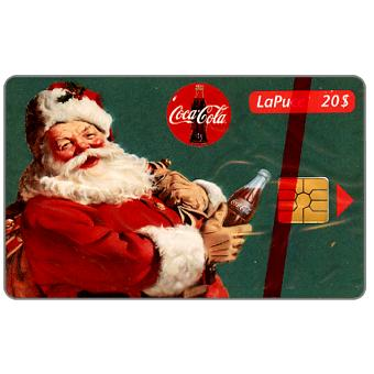Phonecard for sale: Bell Canada - Coca-Cola and Santa, 20$