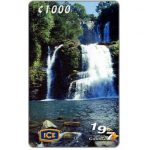 The Phonecard Shop: Costa Rica, Waterfalls of Nauyaca, 1000 colones