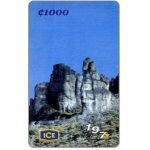 The Phonecard Shop: Los Crestones, Chirripò, 1000 colones