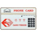 The Phonecard Shop: CTT Logo, 304B, 50 units