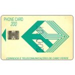 Phonecard for sale: CTT green logo, 200 units