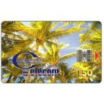 Phonecard for sale: Palm trees, 150 units
