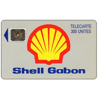 Shell Gabon, chip SC-4 Afnor, 300 units