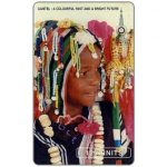 The Phonecard Shop: Young girl in colorful dress, 125 units