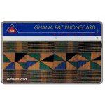 The Phonecard Shop: Ghana, Tapestry, 'Adwen asa', 209A, 60 units