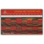 The Phonecard Shop: Ghana, Tapestry, 'Ebusua ye dom', 001E, 120 units