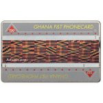 The Phonecard Shop: Ghana, Tapestry, 'Adwen asa', 810B, 240 units