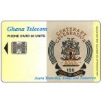 The Phonecard Shop: Centenary of Accra, 01/98, 50 units