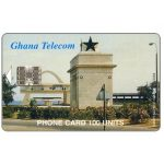 The Phonecard Shop: Independence Square, Accra, 07/01, 100 units