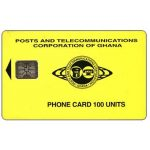 The Phonecard Shop: P&T logo, 150 units, chip SC-5