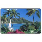 The Phonecard Shop: Hawaii (U.S.A.), Diamond Head - Beautiful, 3 units