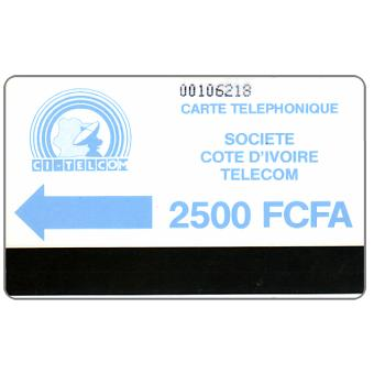 CI Telecom - Blue logo, without notch, 2500 FCFA