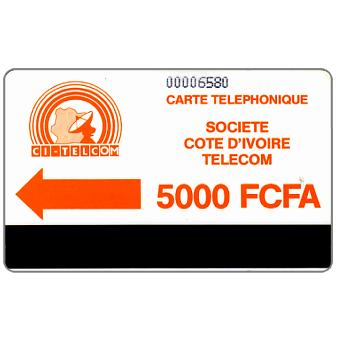 CI Telecom - Orange logo, without notch, 5000 FCFA
