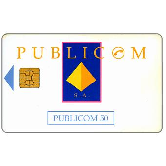 Publicom - Logo, chip PH5, 50 units