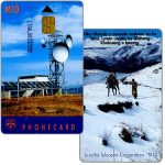 The Phonecard Shop: Lesotho, Earth station, code LTAA_0 under chip, glossy, chip SIE30, M10