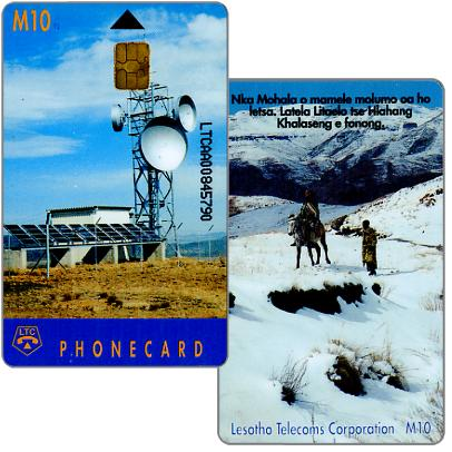 Earth station, code LTCAA, glossy, chip SIE35, M10