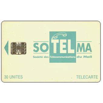 Small Company Logo, Moreno logo on back, chip SC-7, 30 units
