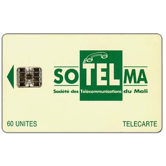 Small Company Logo, Moreno logo on back, chip SC-7, 60 units