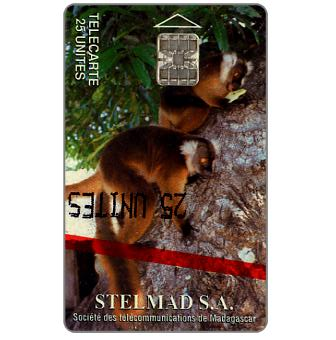First issue, Lemurs of Madagascar, 25 units