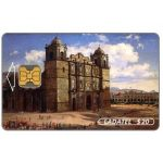 The Phonecard Shop: Ladatel, Mexican landscapes, paintings of the 19th century, Catedral de Oaxaca, $20