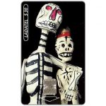 The Phonecard Shop: Mexico, Ladatel, Holidays, Calaveras de papel, $3