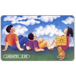 The Phonecard Shop: Ladatel, Illustrations, Mirando al cielo, $30