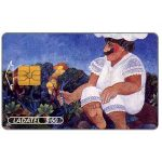 The Phonecard Shop: Mexico, Ladatel, Illustrations, El Gigante, $50