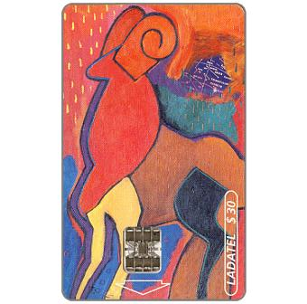 Phonecard for sale: Ladatel, Zodiacus, Aries, $30