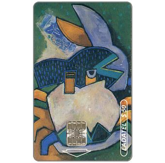 Phonecard for sale: Ladatel, Zodiacus, Cancer, $30