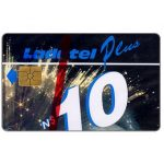 The Phonecard Shop: Ladatel Plus, Fibra Optica, N$10, chip GEM