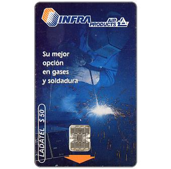Phonecard for sale: Ladatel,  Infra Air Products, $50