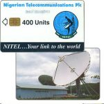 The Phonecard Shop: Nigeria, Earth Station, chip SIE35, 400 units