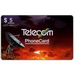 The Phonecard Shop: New Zealand, Standard Satellites, 3NZLB, $5