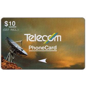 Phonecard for sale: Standard Satellites, 3NZLC, $10