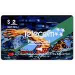 The Phonecard Shop: Commonwealth Games, Swimming, $2