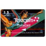 The Phonecard Shop: New Zealand, Commonwealth Games, Gymnastic, $5