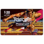 The Phonecard Shop: Commonwealth Games, Hurdling, $20