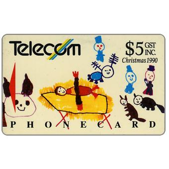 The Phonecard Shop: Christmas 1990, The Nativity, $5