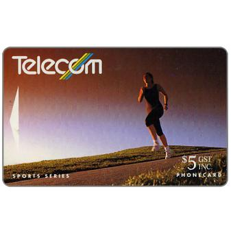 The Phonecard Shop: Summer Sports, Running, $5