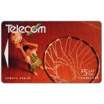 The Phonecard Shop: Winter Sports, Netball, $5