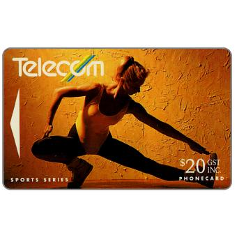 Phonecard for sale: Winter Sports, Aerobics, $20
