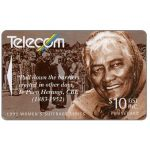 The Phonecard Shop: Women's Suffrage, Te Puea Herangi, $10