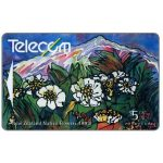 The Phonecard Shop: Native flowers, Mount Cook Lily, $5