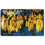 The Phonecard Shop: New Zealand, Native flowers, Kowhai, $20