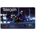 The Phonecard Shop: New Zealand, Year of the Family, Families and Fun, $10