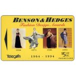 The Phonecard Shop: New Zealand, Benson & Hedges Fashion Design Awards, $5