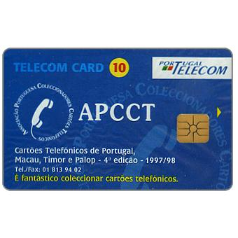 Portugal Telecom - APCCT, Phonecards collecting, 10 units